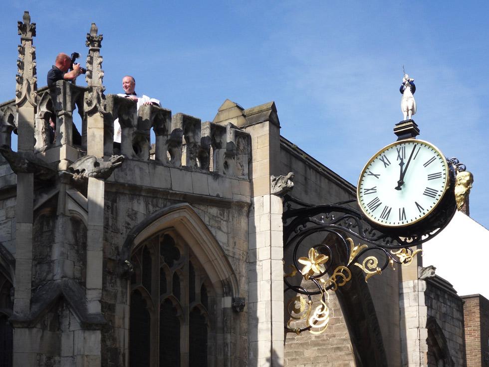 St-Martins-clock
